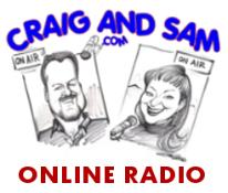Craig & Sam, professional broadcasters offering team or solo voice tracking services